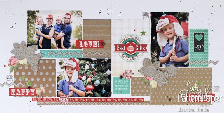 Krafty Christmas Layouts - Jolly Fun