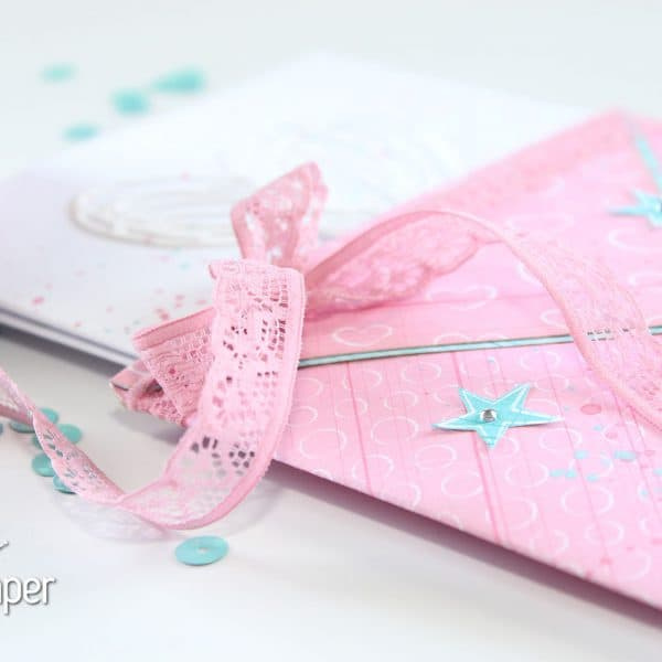 Pocket Envelopes - Lace Embellishment