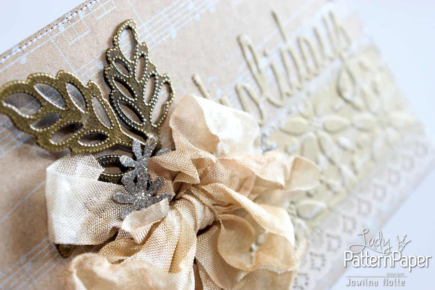 Golden Moments Christmas Cards - Ribbon