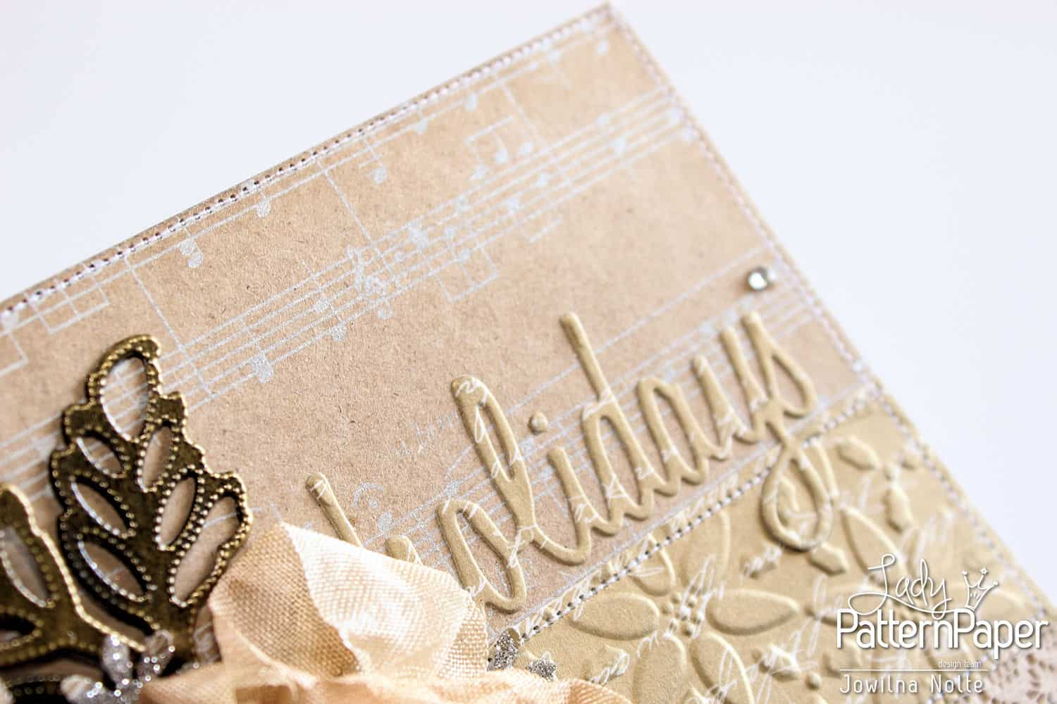 Golden Moments Christmas Cards - Silver