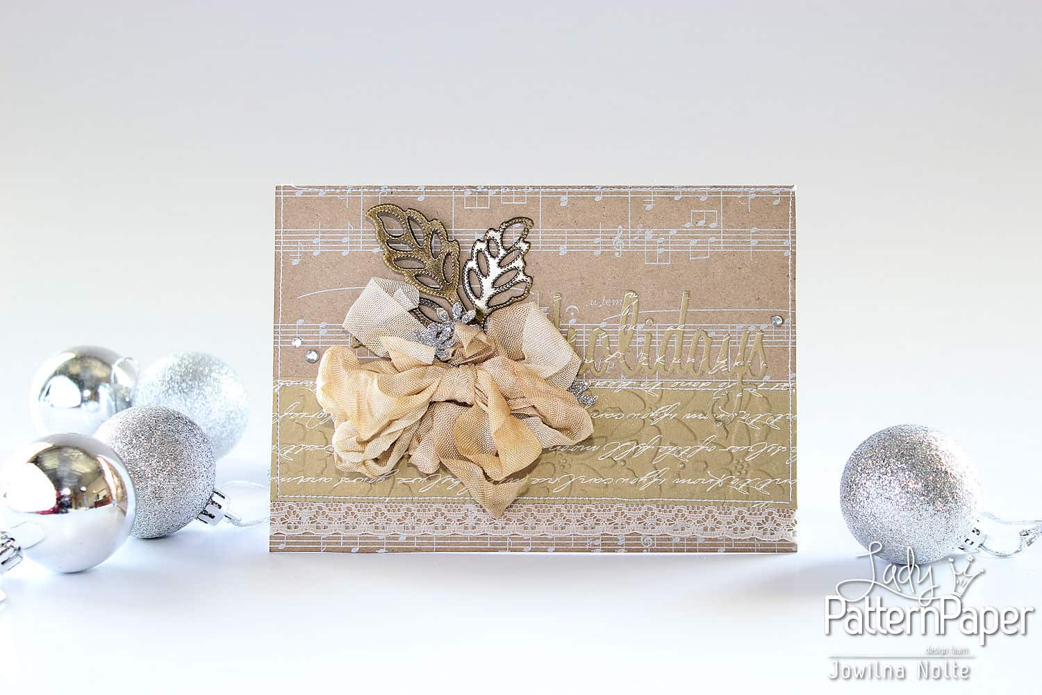 Golden Moments Embossed Christmas Cards