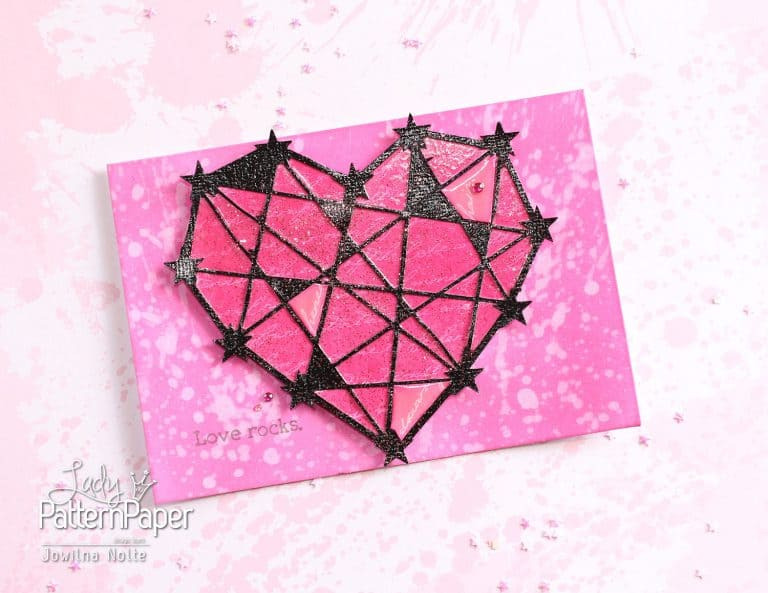 Die Cut Heart - Valentines Day Card