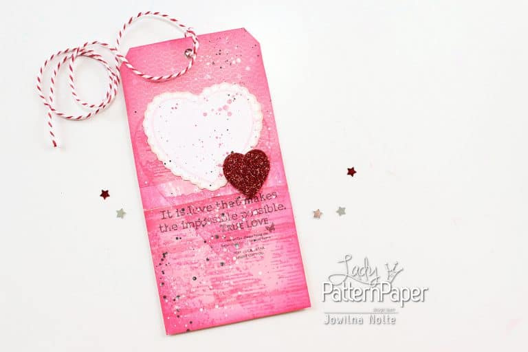 It's a PINK thing Valentine's Day Tag