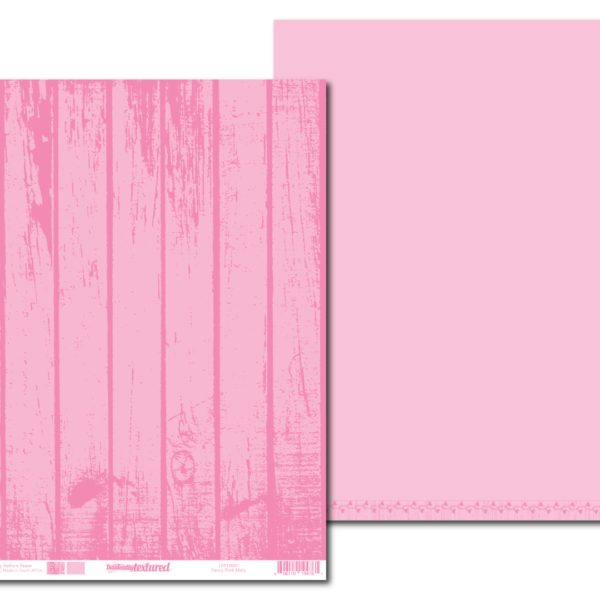 LPPT0007 - Basically Textured - Fency - Pink Mary