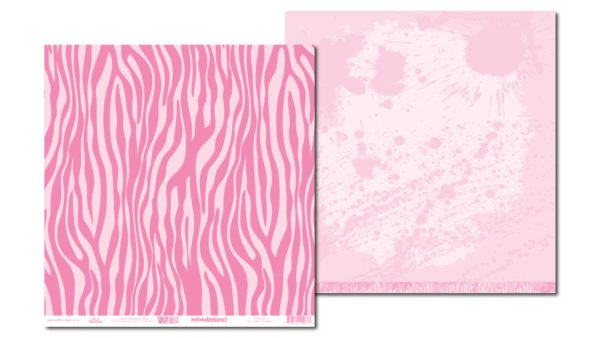 LPPT0008 - Basically Textured - Zesty Zebra - Pink Mary
