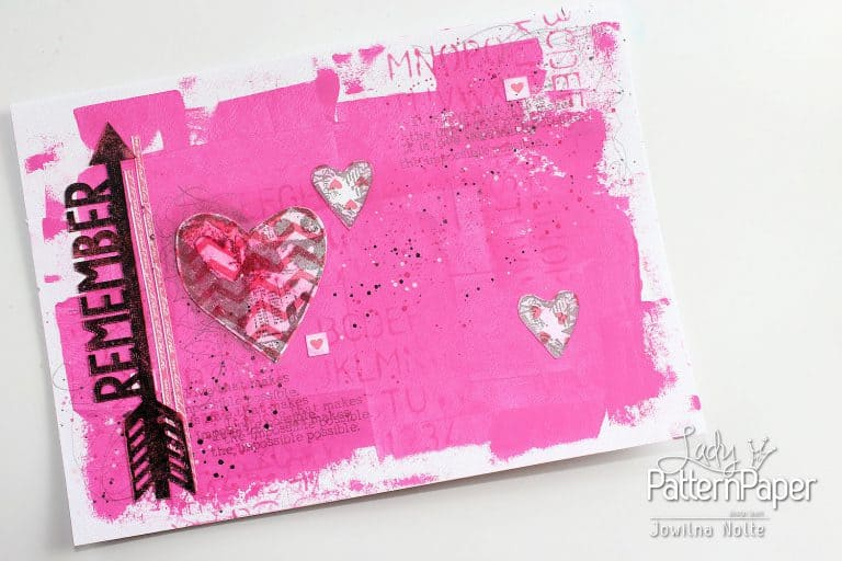 Art Journal Love Page - Remember Love