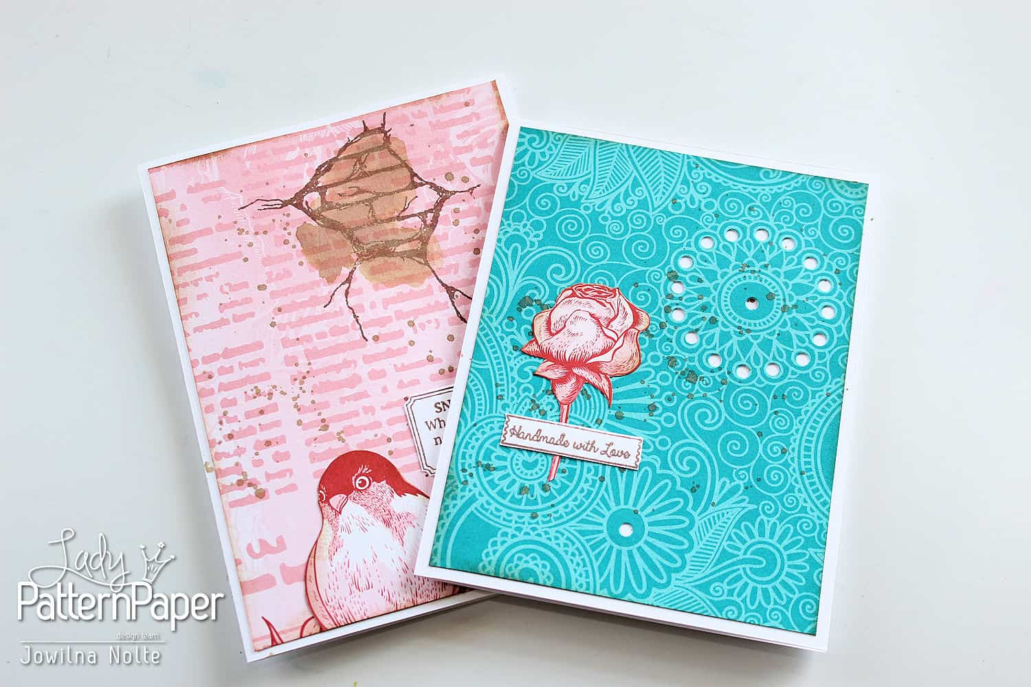 Snail Mail Cards - Handmade