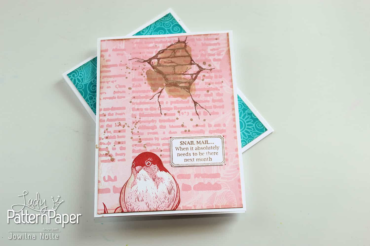 Snail Mail Cards - Stamp