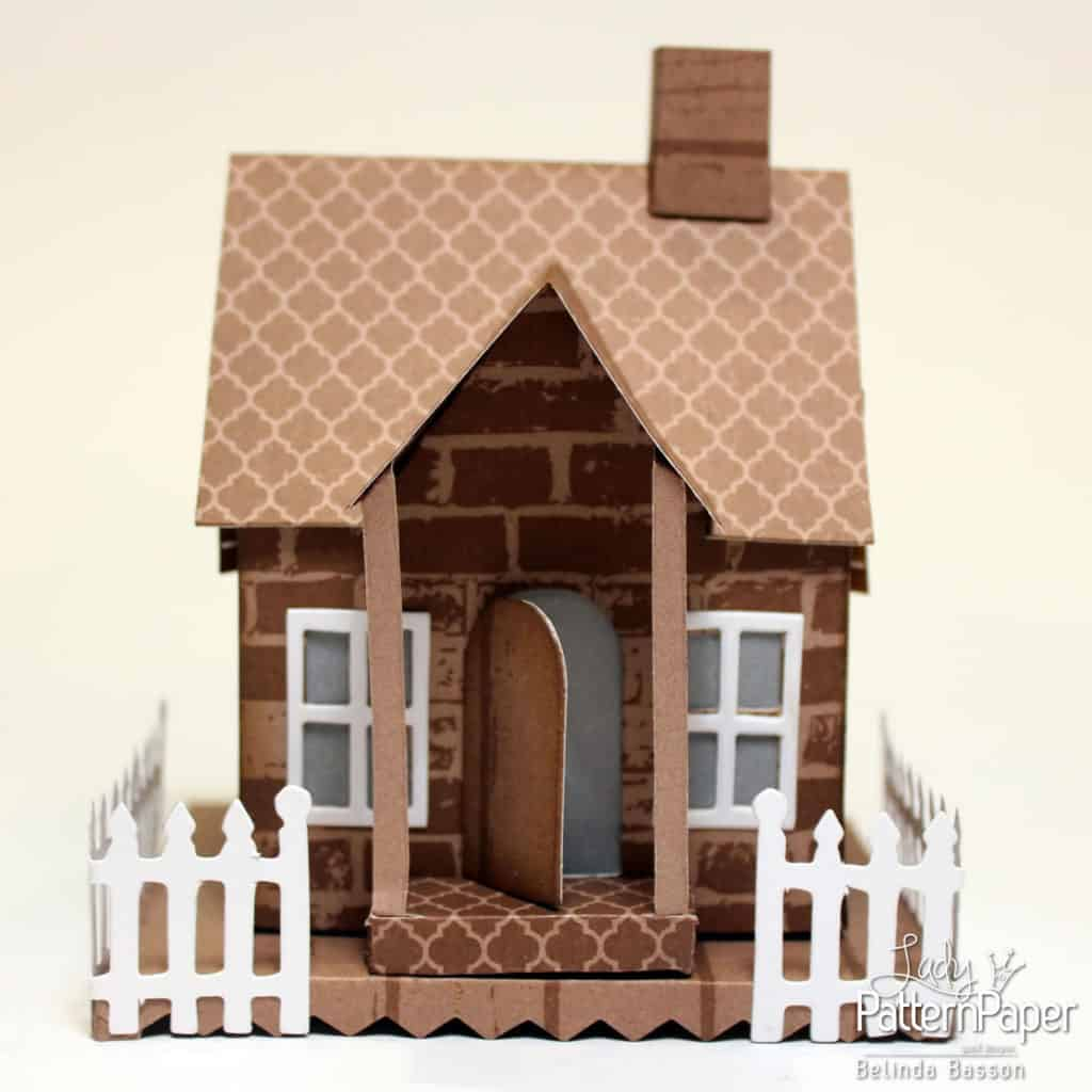 Beautiful Paper House - Front View