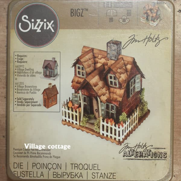 Beautiful Paper House - Sizzix
