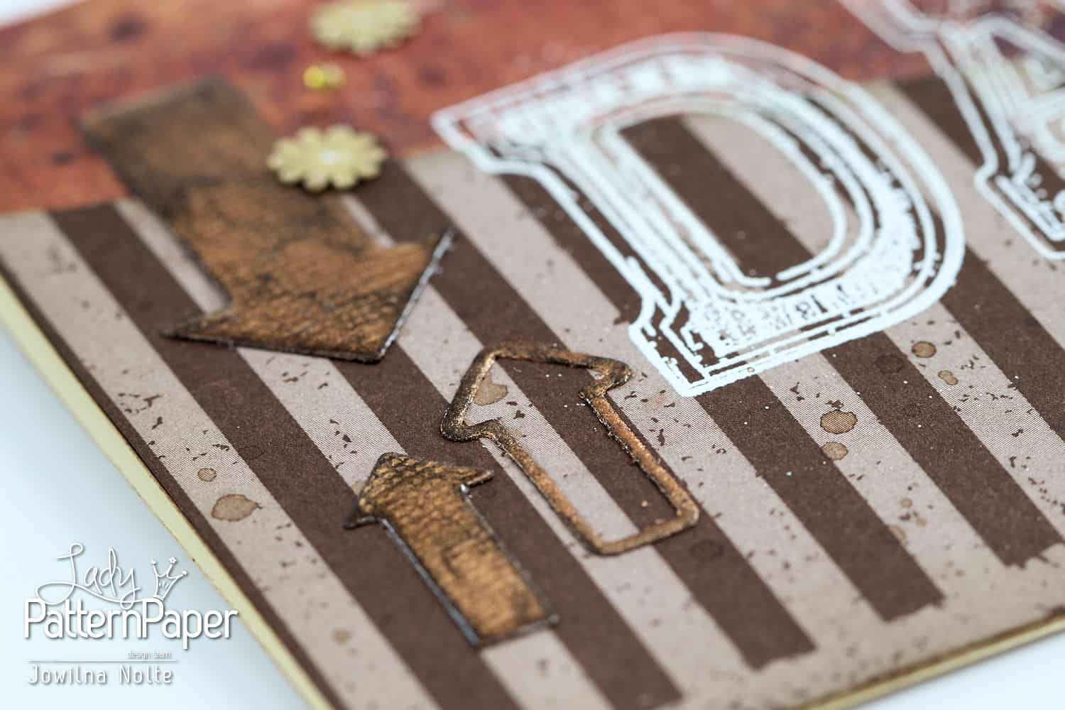 Chocolate Chilli - Father's Day - Embossing