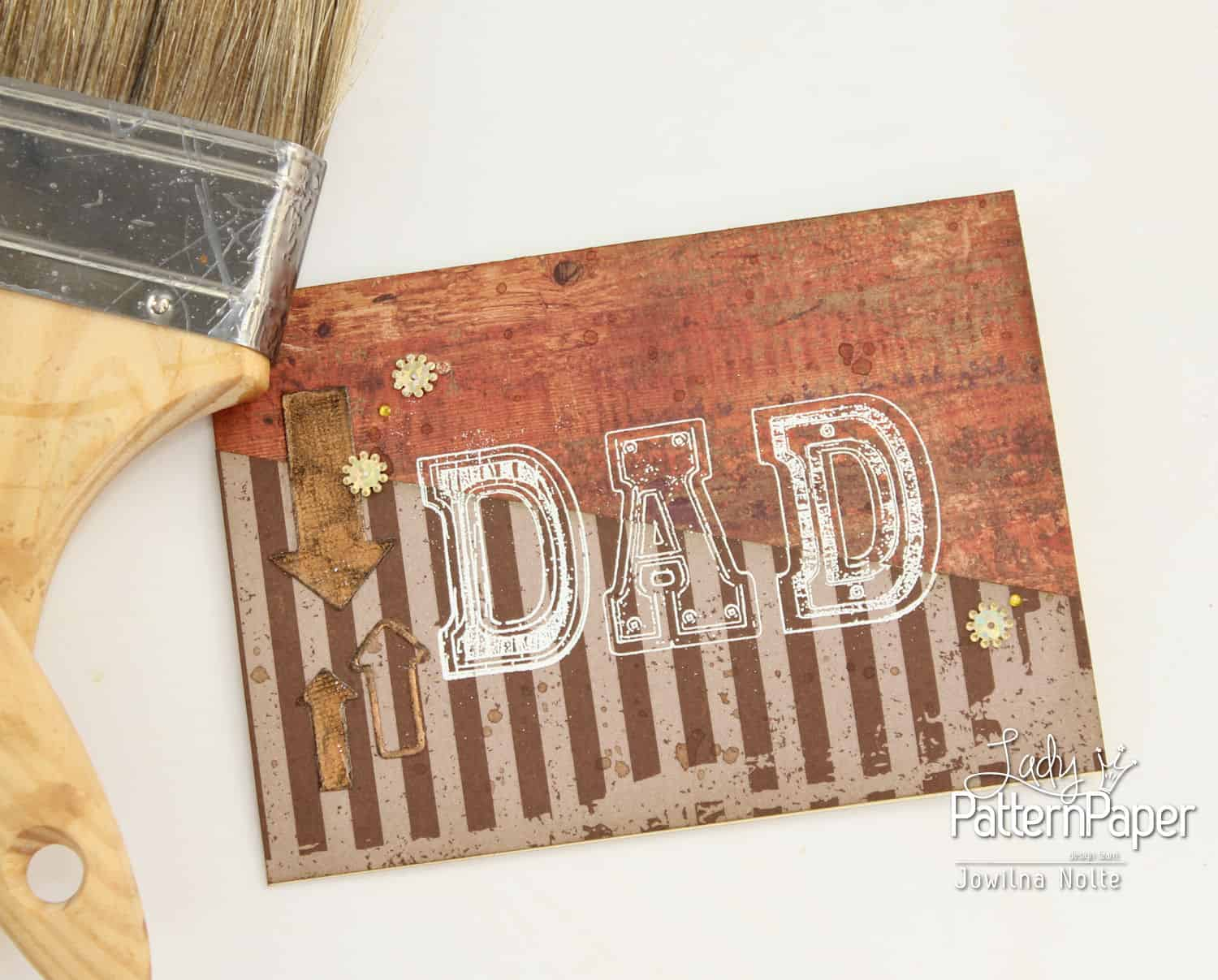 Chocolate Chilli - Father's Day - DAD Card