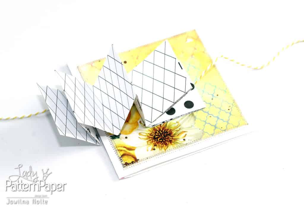 Folded Card - Opened Surprise