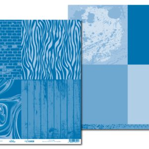LPPHC0006 - hello CARDS - Basically Textured V1 - Dazzling Blue