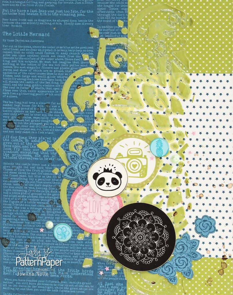 Lady Pattern Paper - Sampler Board
