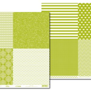 LPPHC0001 - hello CARDS - Basic Essentials V1 - Green Chartreuse