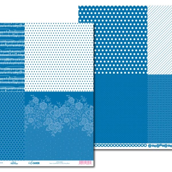LPPHC0002 - hello CARDS - Basic Essentials V2 - Dazzling Blue