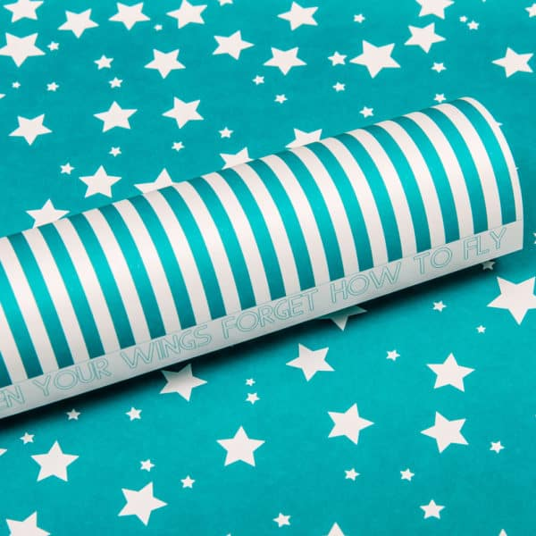 LPP0055 - Basic Essentials - Sassy Stars - Intense Teal
