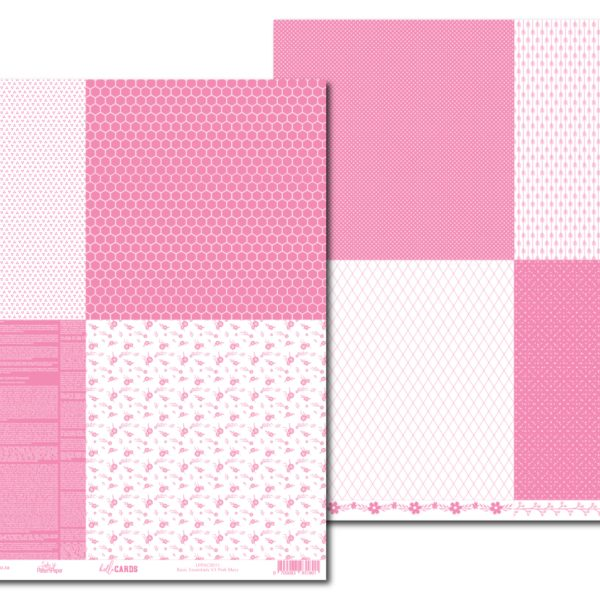 LPPHC0011 - hello CARDS - Basic Essentials V3 - Pink Mary
