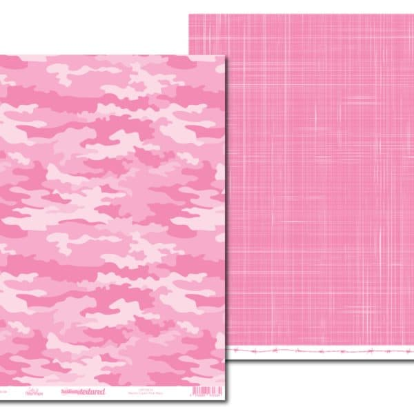 LPPT0014 - Basically Textured - Macho Camo - Pink Mary
