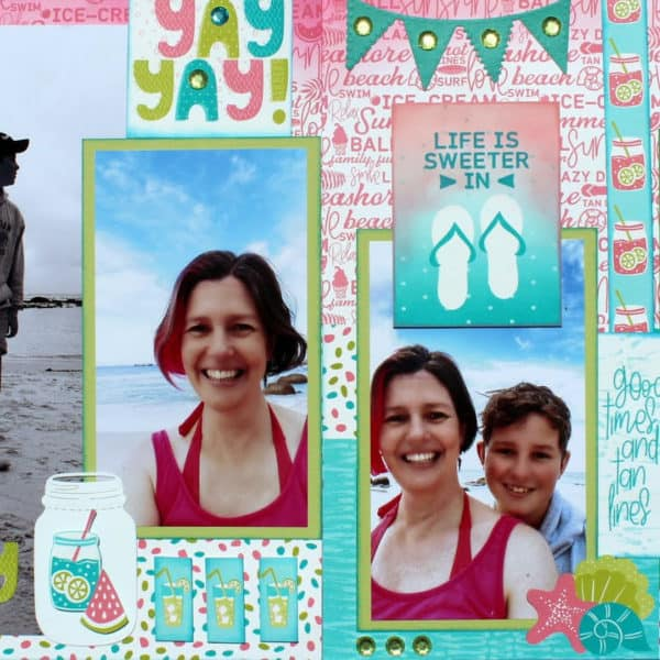 ALMOST Summer Layout by Belinda Basson