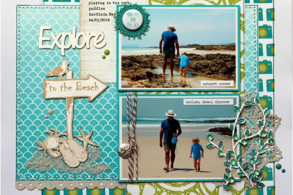 Good times at the beach - Explore Layout