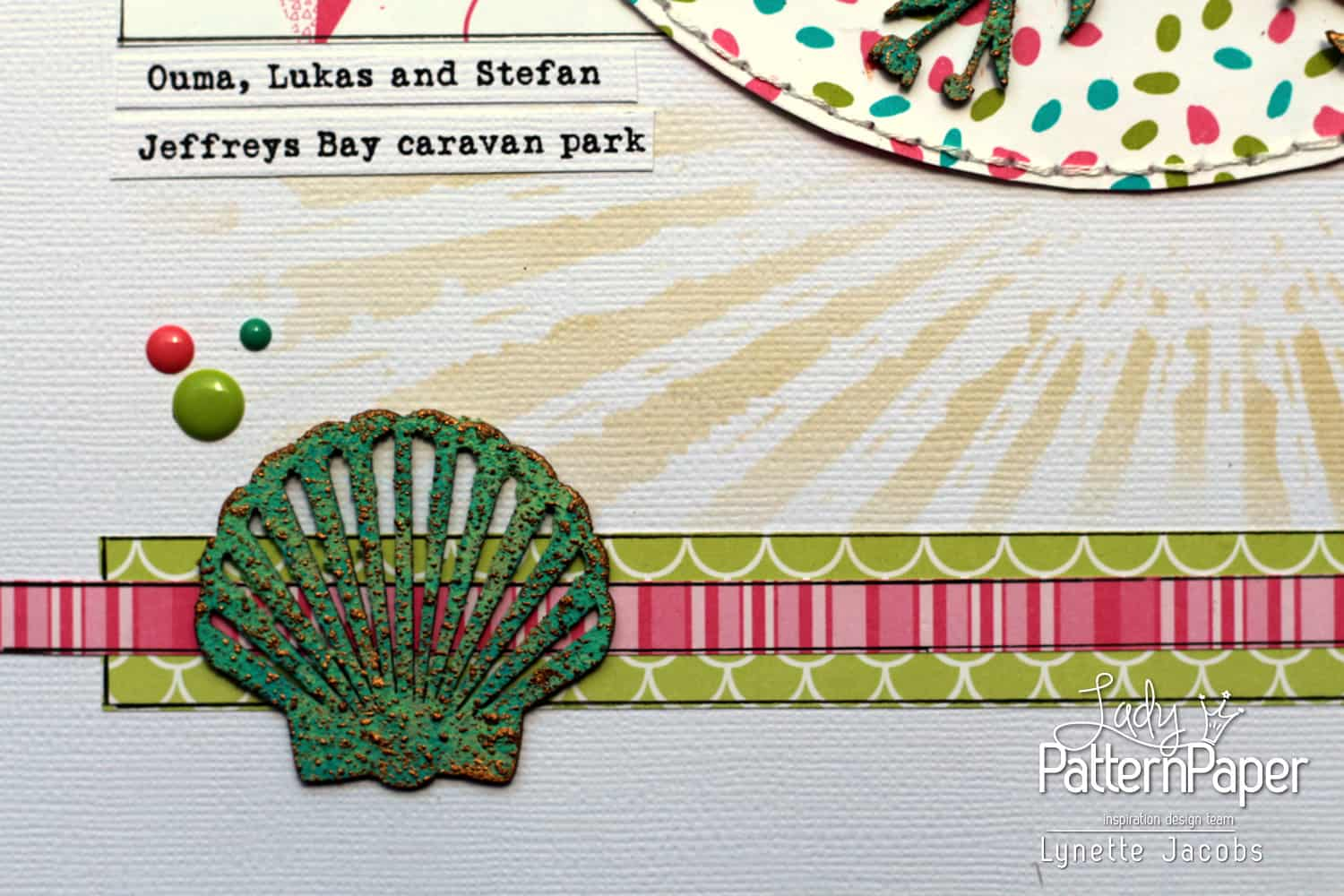 Life Is Sweeter in Flip Flops Layout - Mermaid Tails