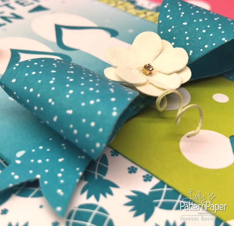 Summer Cards - Vanessa - Paper Bow
