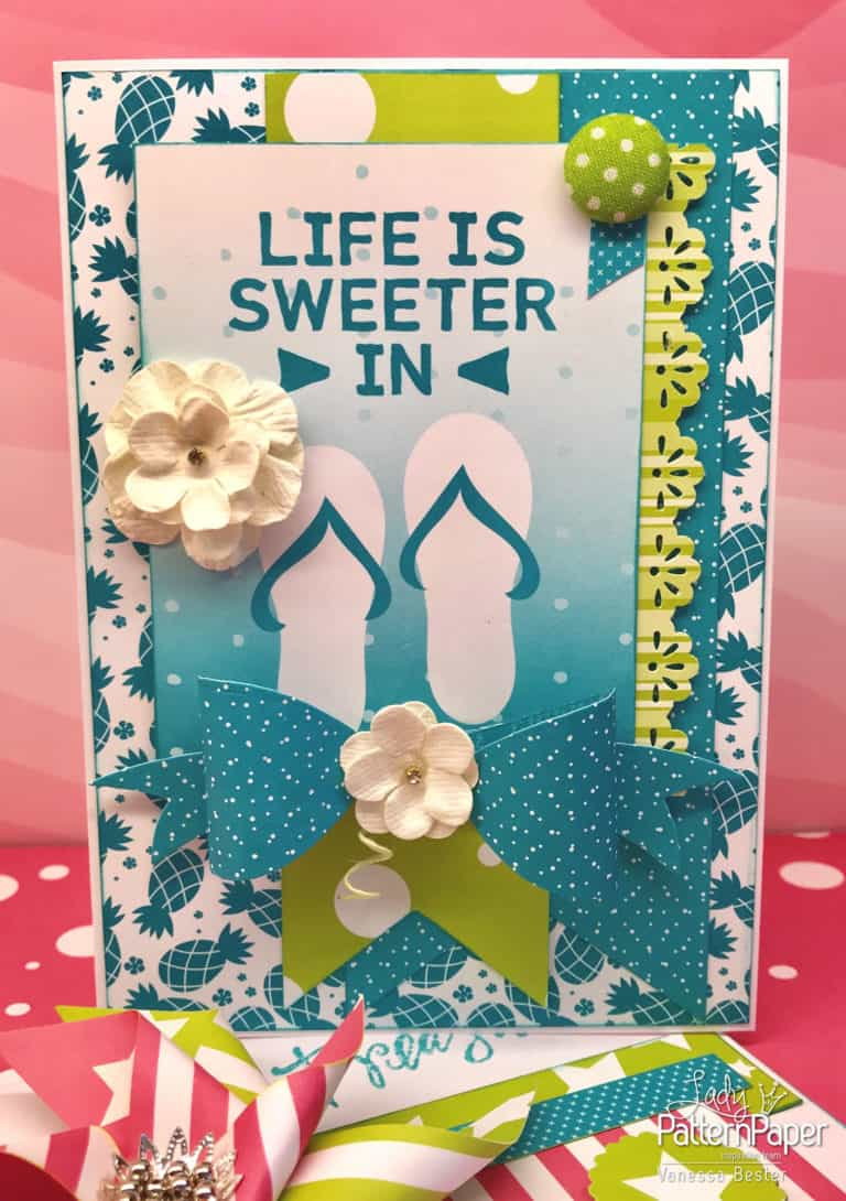 Summer Cards - Vanessa - Life is Sweeter
