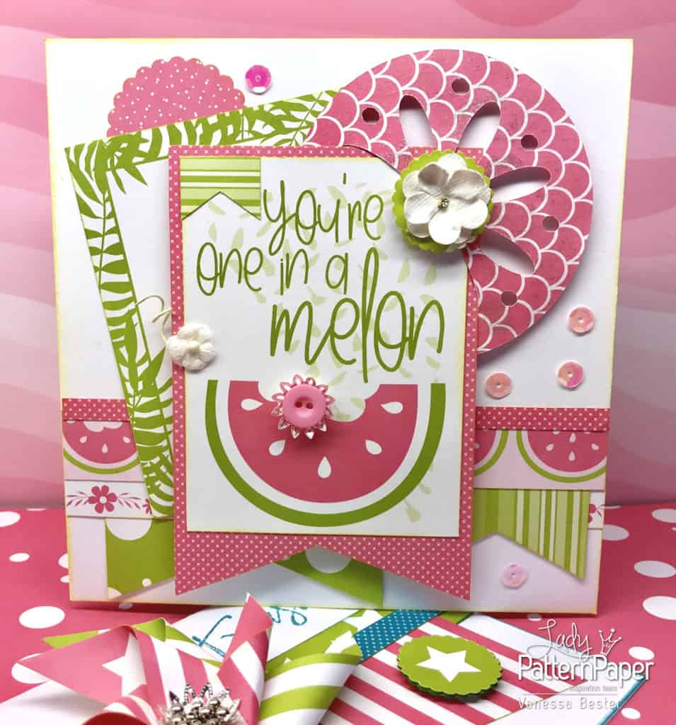 Summer Cards - Vanessa - One in a melon