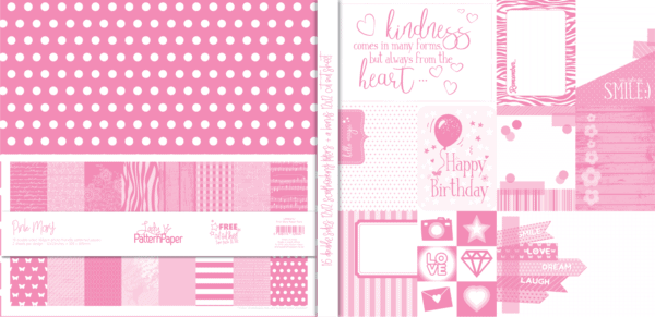 LPPB0012 - Pink Mary Paper Pack V1