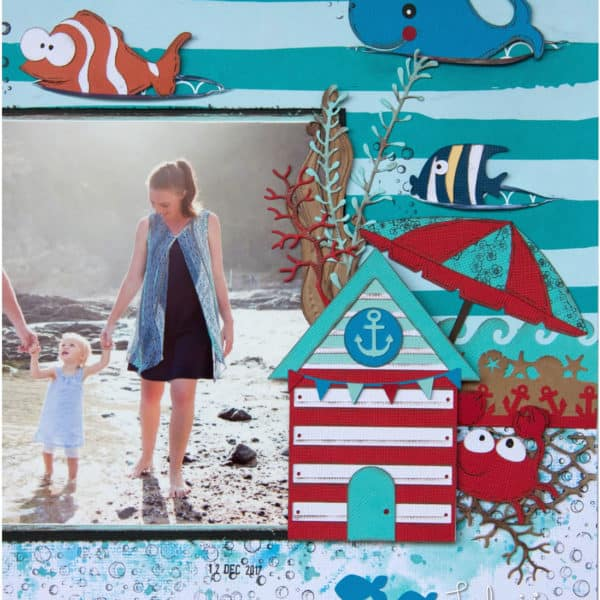 Afri du Preez - Life is good layout - Sea Creatures