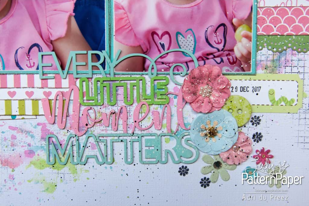 Every Little Moment - Embellishments - Adri du Preez