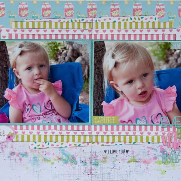 Every Little Moment - Scrapbooking Layout - Adri du Preez