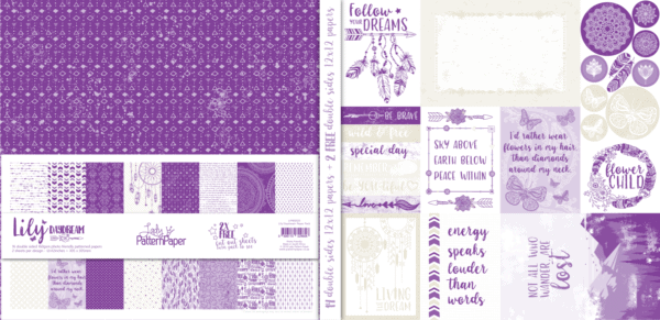 LPPB0020 - Lily Daydream Paper Pack