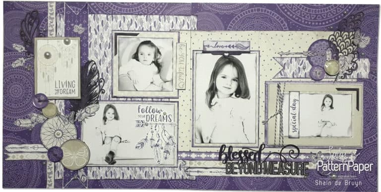 Lily Daydream - Shain de Bruyn - Double Page Layout