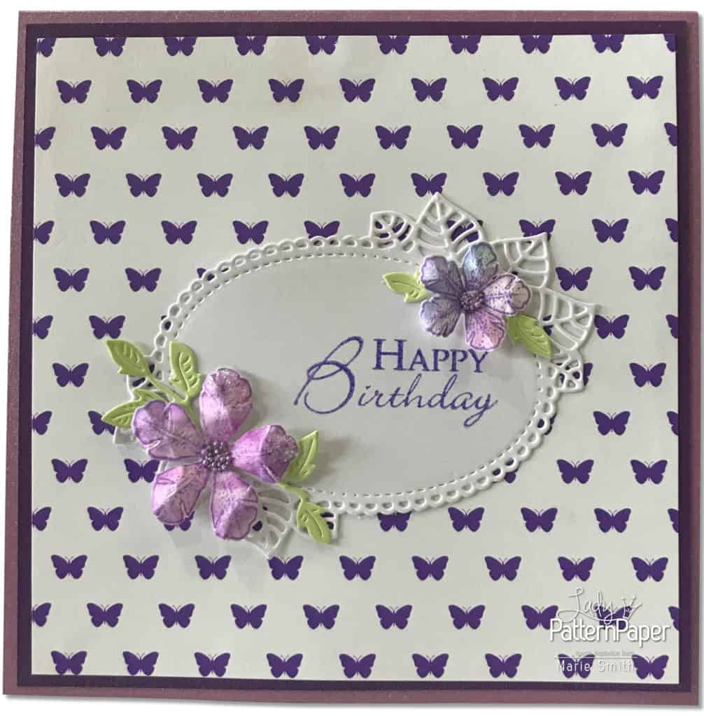 Purple Affair - Marie Smith - hello CARDS Butterflies