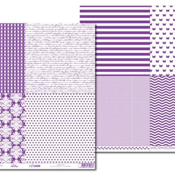 LPPHC0013 - hello CARDS - Purple Affair - Basic Essentials V1