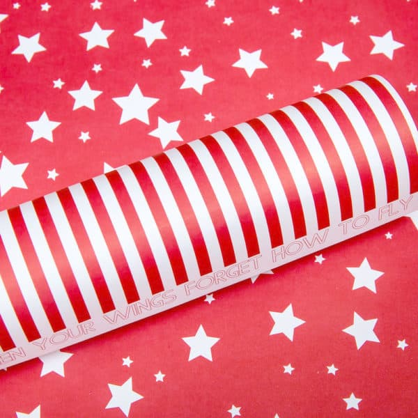 LPP0068 - Basic Essentials - Sassy Stars - Red Pop
