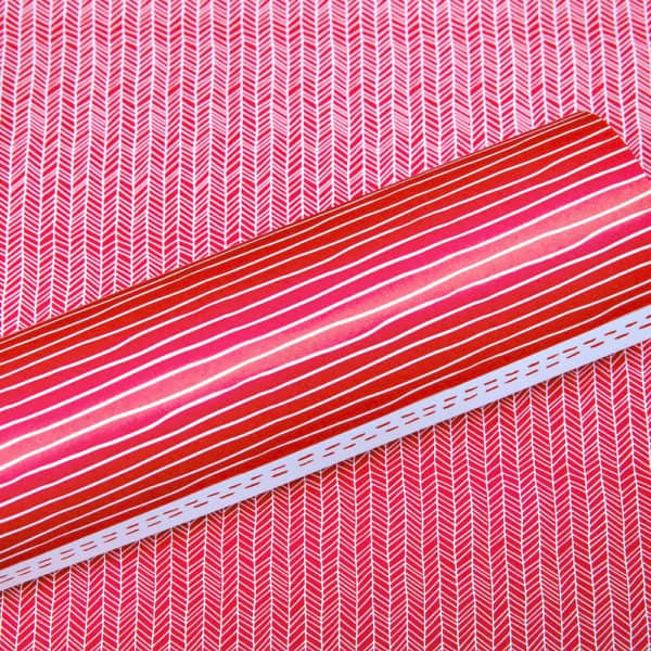 LPP0070 - Basic Essentials - Stripey Stripes - Red Pop