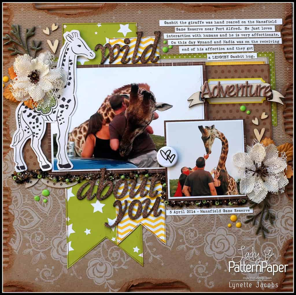 Wild About You - Kraft Essentials - Lynette Jacobs