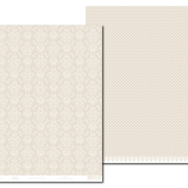 LPP0072 - Basic Essentials - Dainty Damask - So Buff