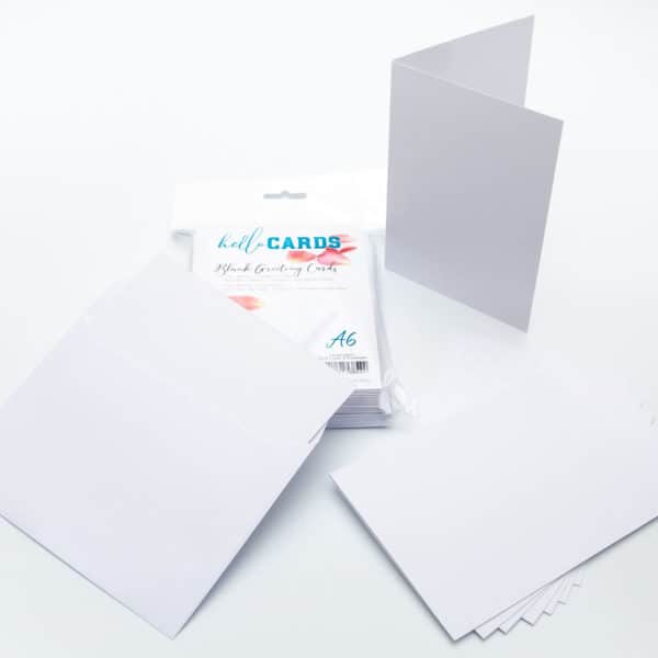 LPPHC0015 - hello CARDS - A6 Blank Cards and Envelopes