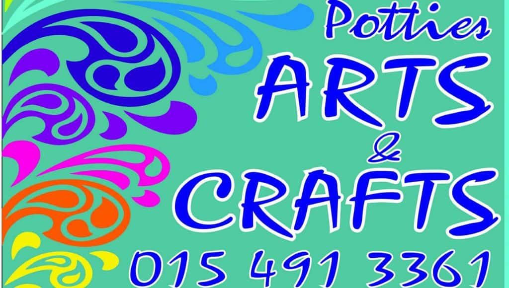 Potties arts and crafts lady pattern paper scrapbooking for Arts and crafts stores near my location