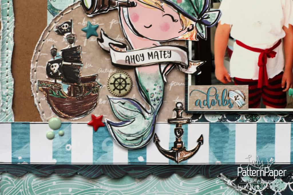 Ahoy Boy Layout - Adorbs