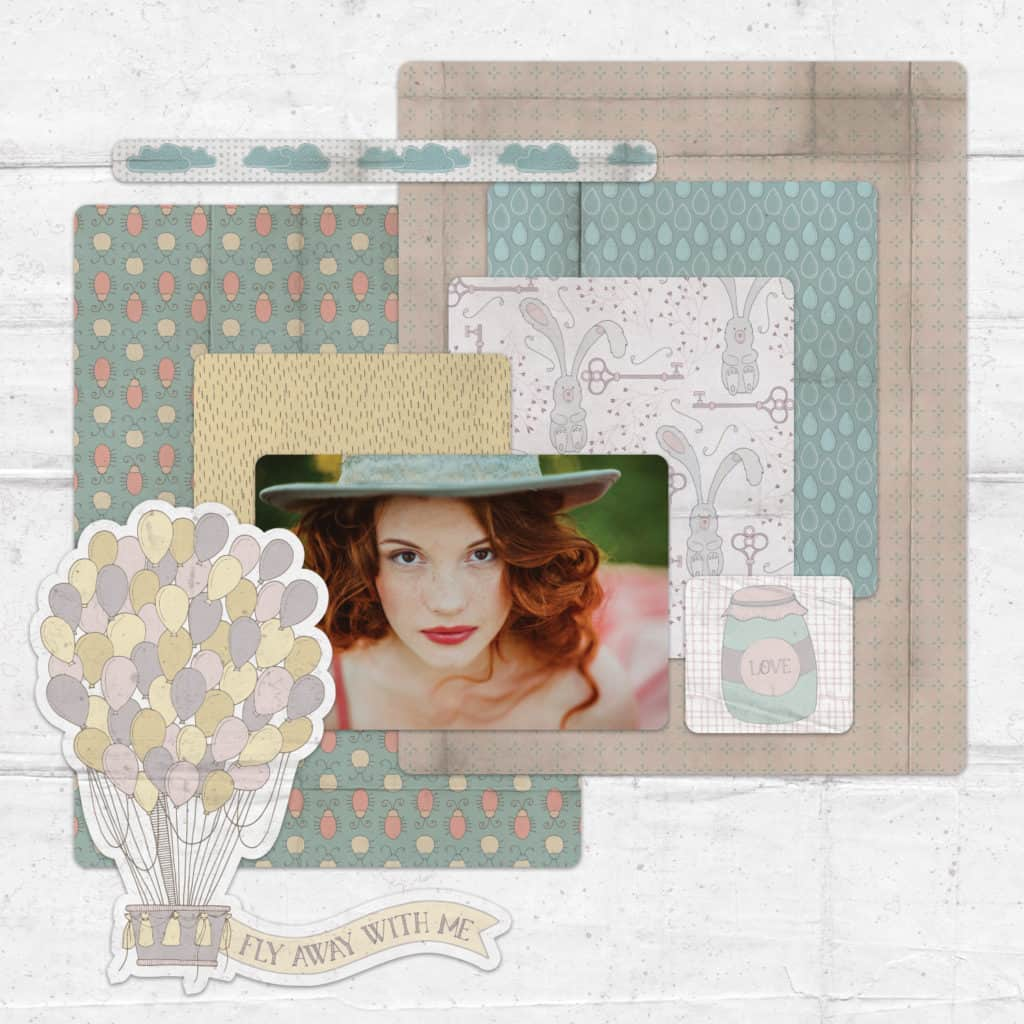 Alice in Vintage Layout