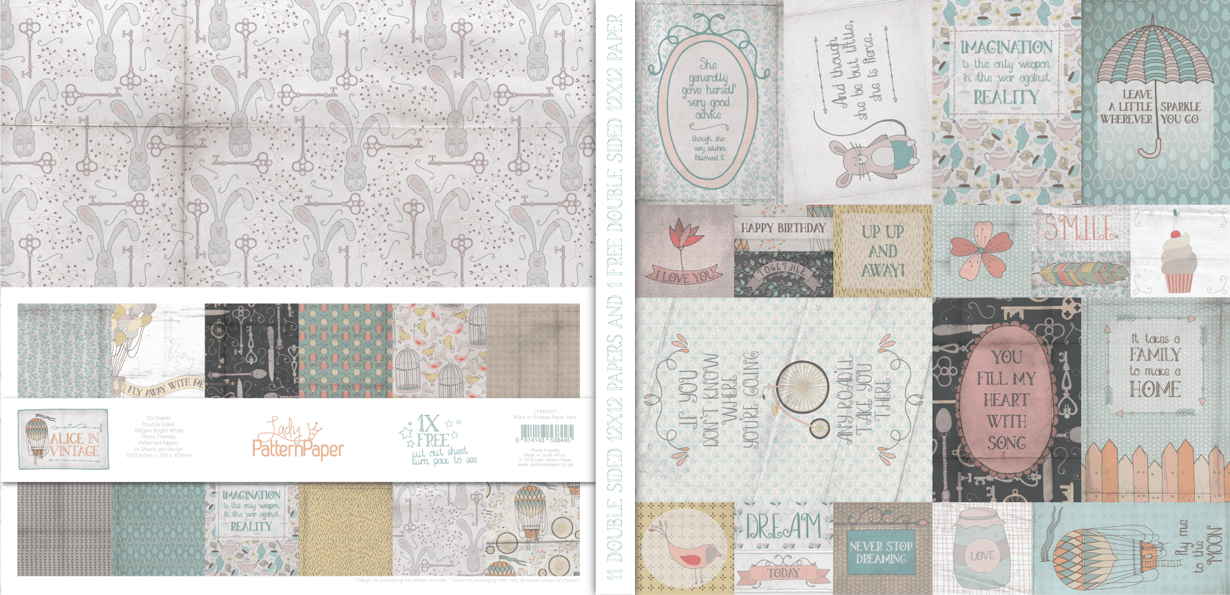 LPPB0027 - Alice in Vintage - Paper Pack