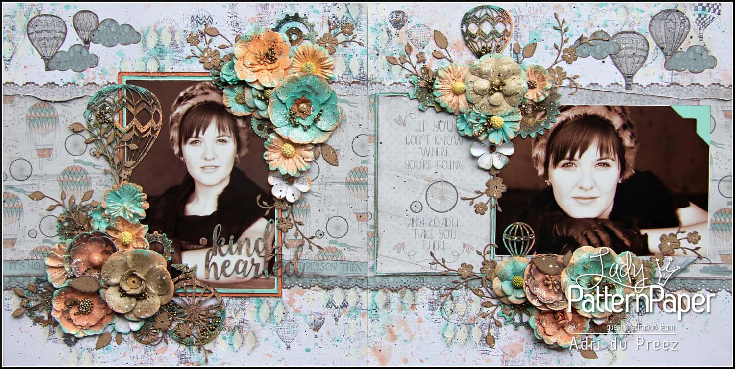 Alice in Vintage Layout by Adri du Preez