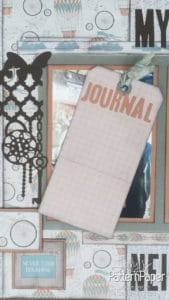 Alice in Vintage - Journal Tag