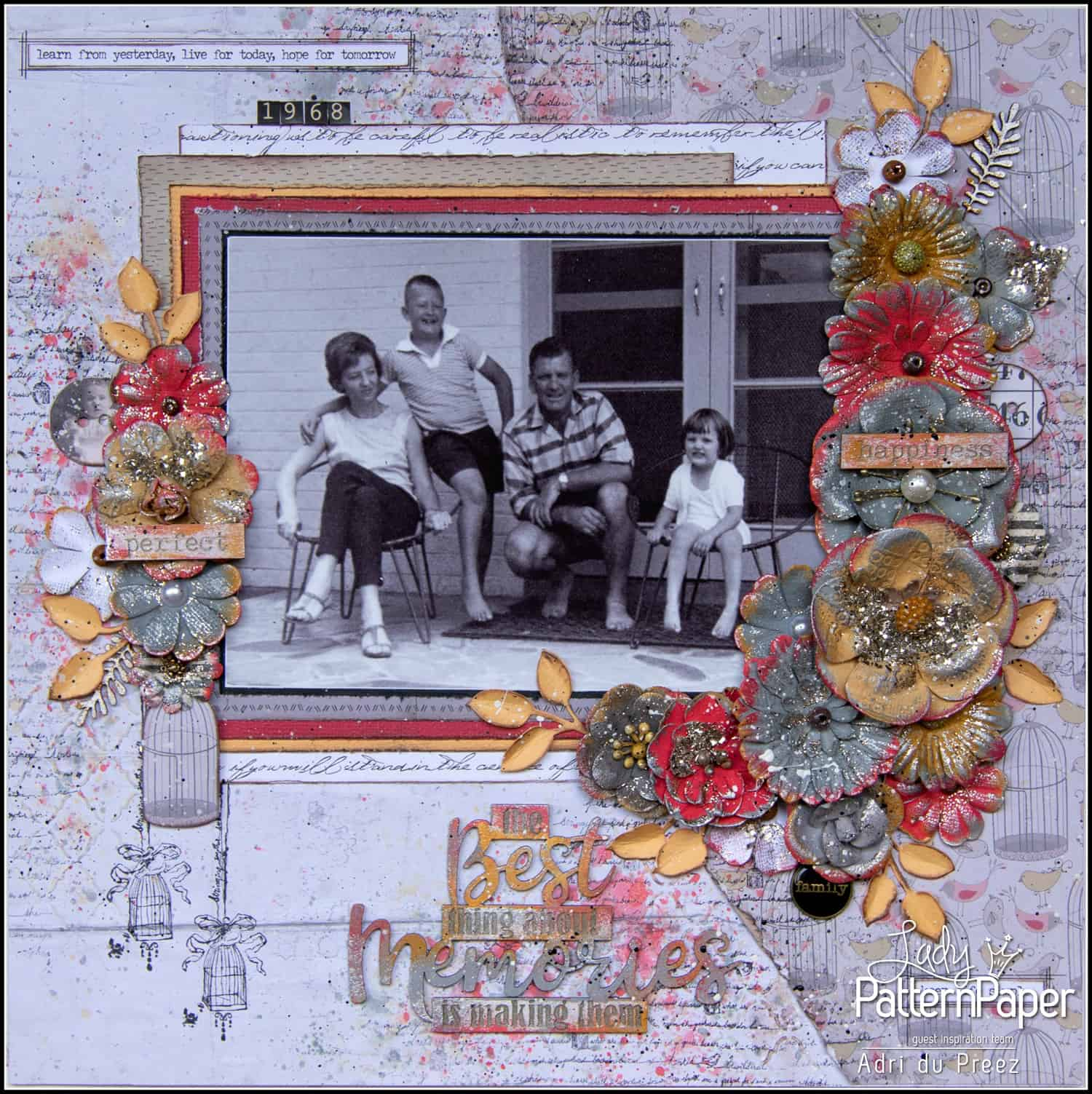 Alice in Vintage Single Page by Adri